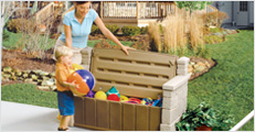 Patio Furniture, Mailboxes, and Storage
