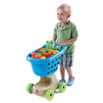 Little Helper's Shopping Cart - Blue