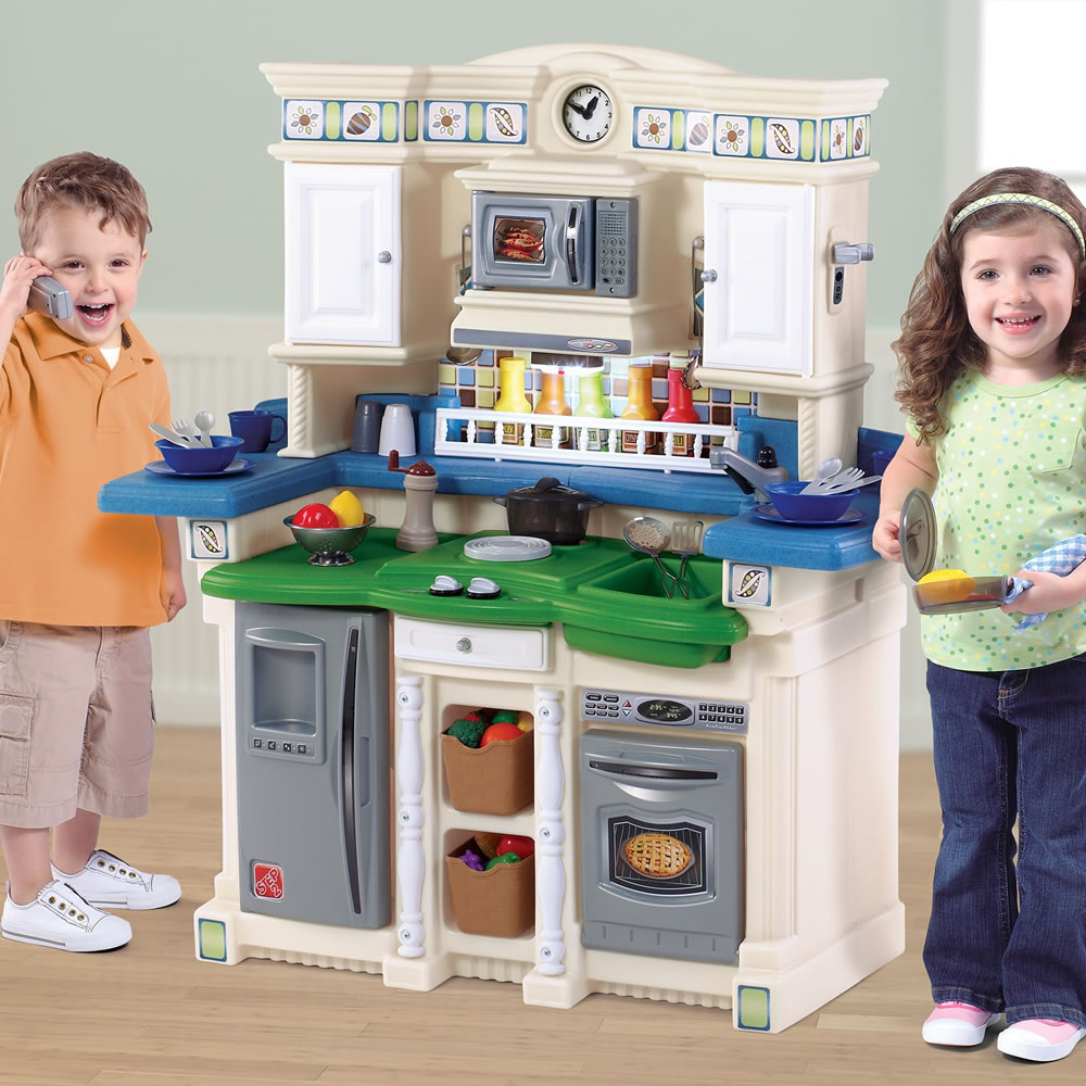 LifeStyle™ PartyTime Kitchen - Blue & Green