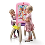 All Around Easel for Two™ - Pink