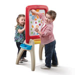 All Around Easel for Two™ - Red