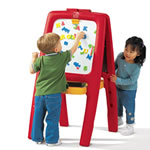 Easel for Two - Red