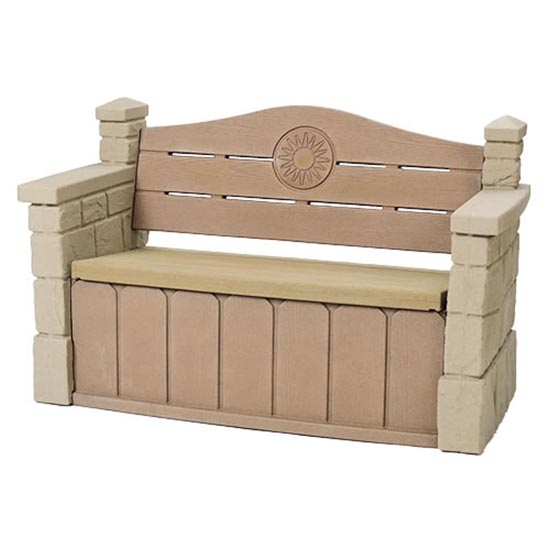 Step2 Outdoor Storage Bench