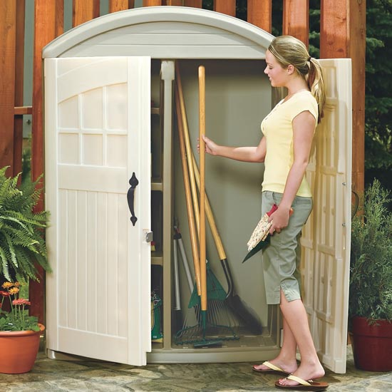 LifeScapes Highboy Storage Shed