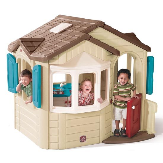 Naturally Playful Welcome Home Playhouse Front View