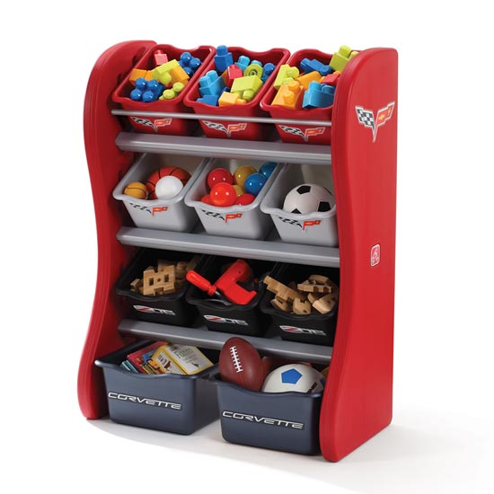 Corvette Room Organizer Front View