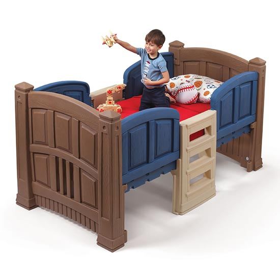 Boy's Loft & Storage Twin Bed Front View