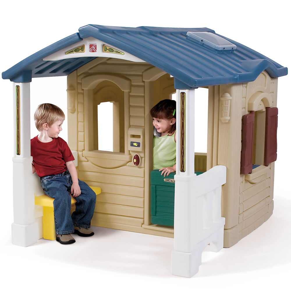 Naturally Playful&#xae; Front Porch Playhouse