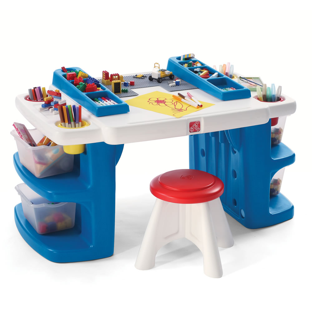 Build &amp; Store Block &amp; Activity Table