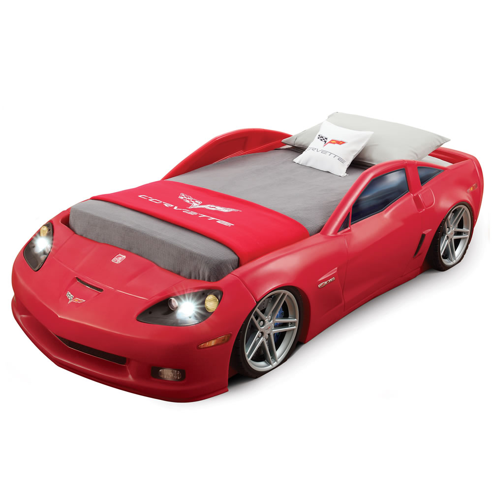Corvette® Toddler to Twin Bed with Lights™
