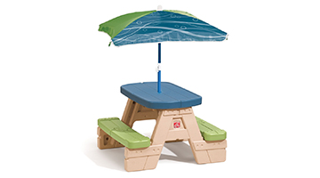 Step2 Plastic Toddler Picnic Tables