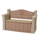 Click to View Product Details for Outdoor Storage Bench