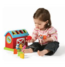 Click to View Product Details for Barn Shape Sorter