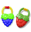 Click to View Product Details for Vibrating Teether - Strawberry/Grape