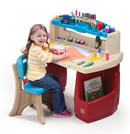 Click to View Product Details for Deluxe Art Master Desk