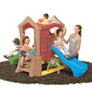 Click to View Product Details for Play Up Double Slide Climber  