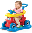 Click to View Product Details for 4-in-1 Rock 'n Stroll Rider