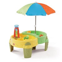 Shady Oasis Sand & Water Play Table™ - Orange