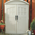 durable plastic shed