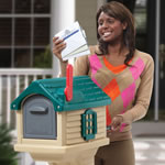 Receiving mail from mailbox