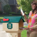 Rear access of mailbox