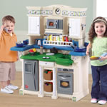 LifeStyle™ PartyTime Kitchen - blue and green