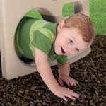 toddler's outdoor climber