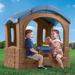 Fun picnic area of child's cottage