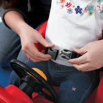 Children's outdoor push car