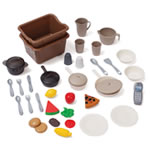 LifeStyle™ Deluxe Kitchen - play food accessories