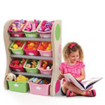 Kids bedroom storage bins