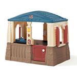 playhouse with molded-in floor