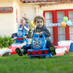 Thomas The Tank Engine™ Up & Down Roller Coaster - boy riding