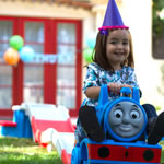 Thomas The Tank Engine™ Up & Down Roller Coaster - girl riding