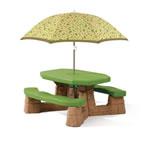 kid's picnic table for backyard