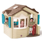 Naturally Playful® Welcome Home Playhouse - front view