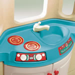 Naturally Playful® Welcome Home Playhouse - sink countertop