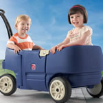Wagon For Two Plus - Blue