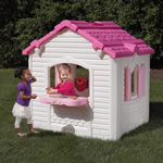 Sweetheart Playhouse outdoor grill