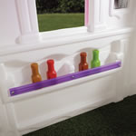 Additional kids playhouse storage