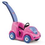 Pink push buggy