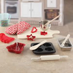 Accessories of baking set