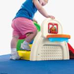 Toddler climbing