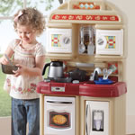 compact play kitchen for kids