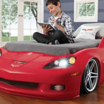 Corvette car twin bed