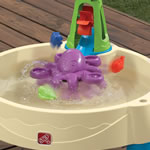 octopus spinner of kid's water table