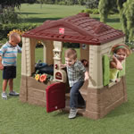 Spacious kids playhouse
