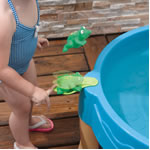 spinner of sensory water table