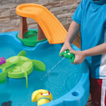 Duck Pond Water Table™ frog squirter