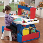 Art desk for children